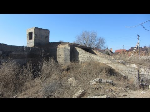 Заброшенное бомбоубежище г. Астрахань.