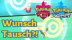 Tauschen: so erhaltet ihr euer Wunsch Pokémon in Pokémon Schwert und Schild