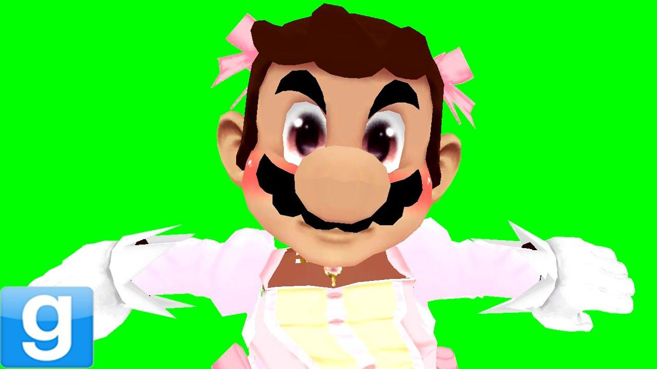 BALLERINA MARIO!!?? - Gmod Funny Super Mario Bros  Mod (Garry's Mod)
