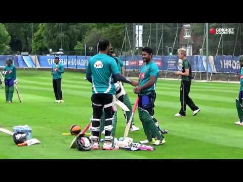 Bangladesh practice at Edgbaston
