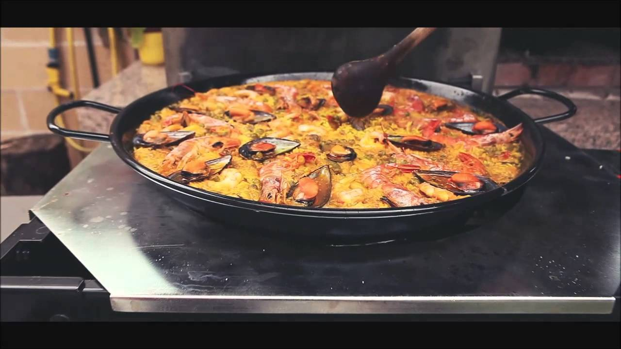 Lar del chef barbacoa plancha paellero youtube - Barbacoa paellero ...