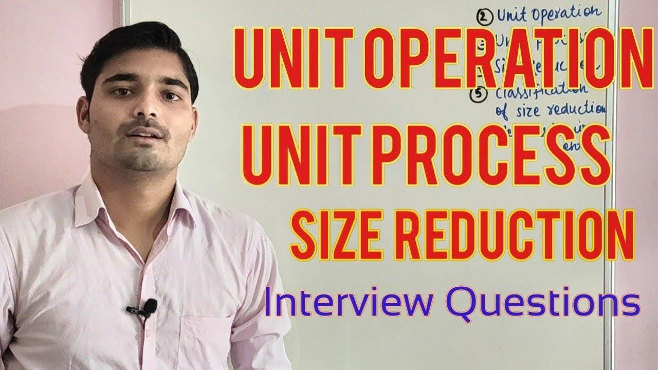 Mechanical operation, Unit operation, unit process , MOSH | Chemical Pedia