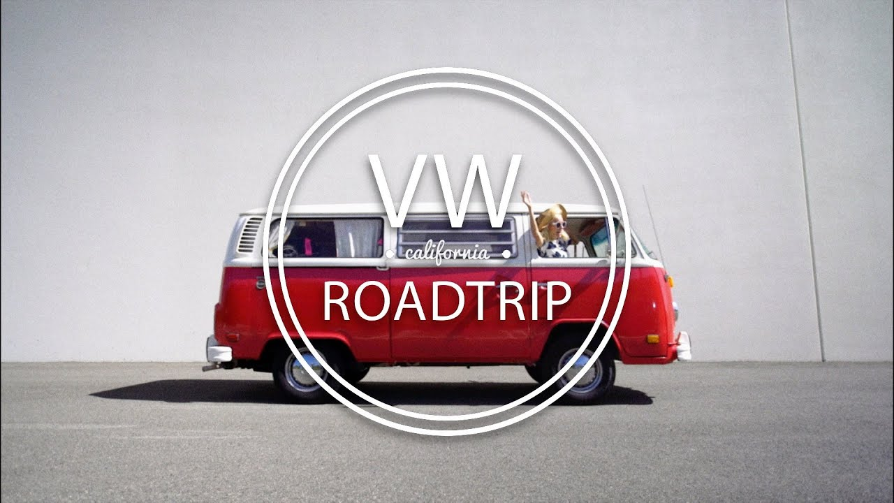 ROADTRIP up the PCH    Driving a VW bus! - YouTube
