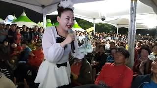 ♥버드리♥ 5일18일 까꿍이~ 지금까지 공연중 최다관객 앞에서 까꿍송 넘넘 귀여워~^^ 대구낭만한우숯불구이축제