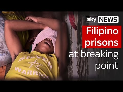 Filipino prisons at breaking point