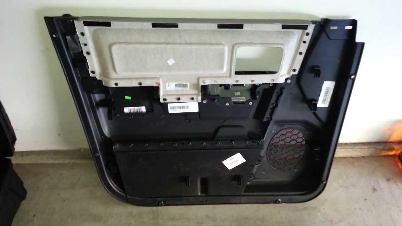 2012 Dodge Ram 1500 Front Door Panel Removed Youtube Removal