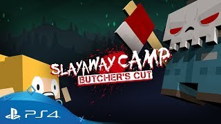 Slayaway Camp: Butcher's Cut | Launch Trailer | PS4