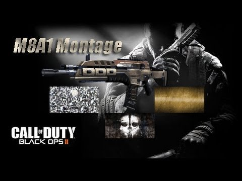 COD: Black Ops 2: M8A1 Montage Gold/Diamond/Ghost Camo ... M1216 Black Ops 2