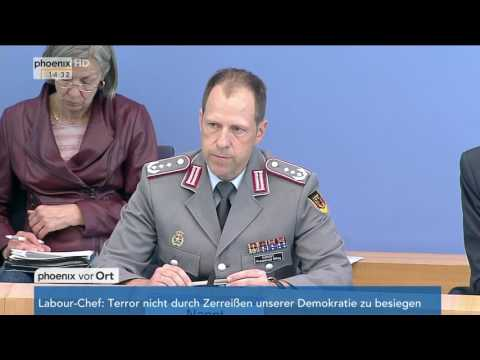 Regierungspressekonferenz zum Abzug der Bundeswehr aus Incirlik am 07.06.17
