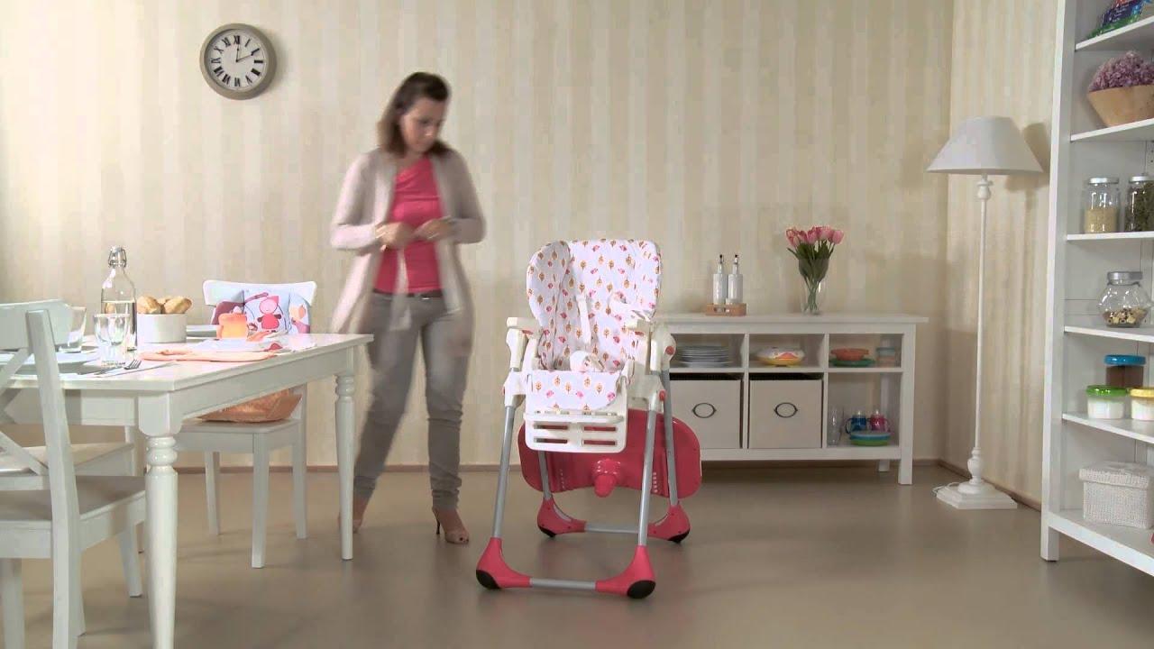 Chicco Polly 2 In 1 Vom Hochstuhl Zum Kinderstuhl Youtube