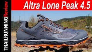 Altra Lone Peak 4.5 Review - La zapatilla más polivalente de Altra