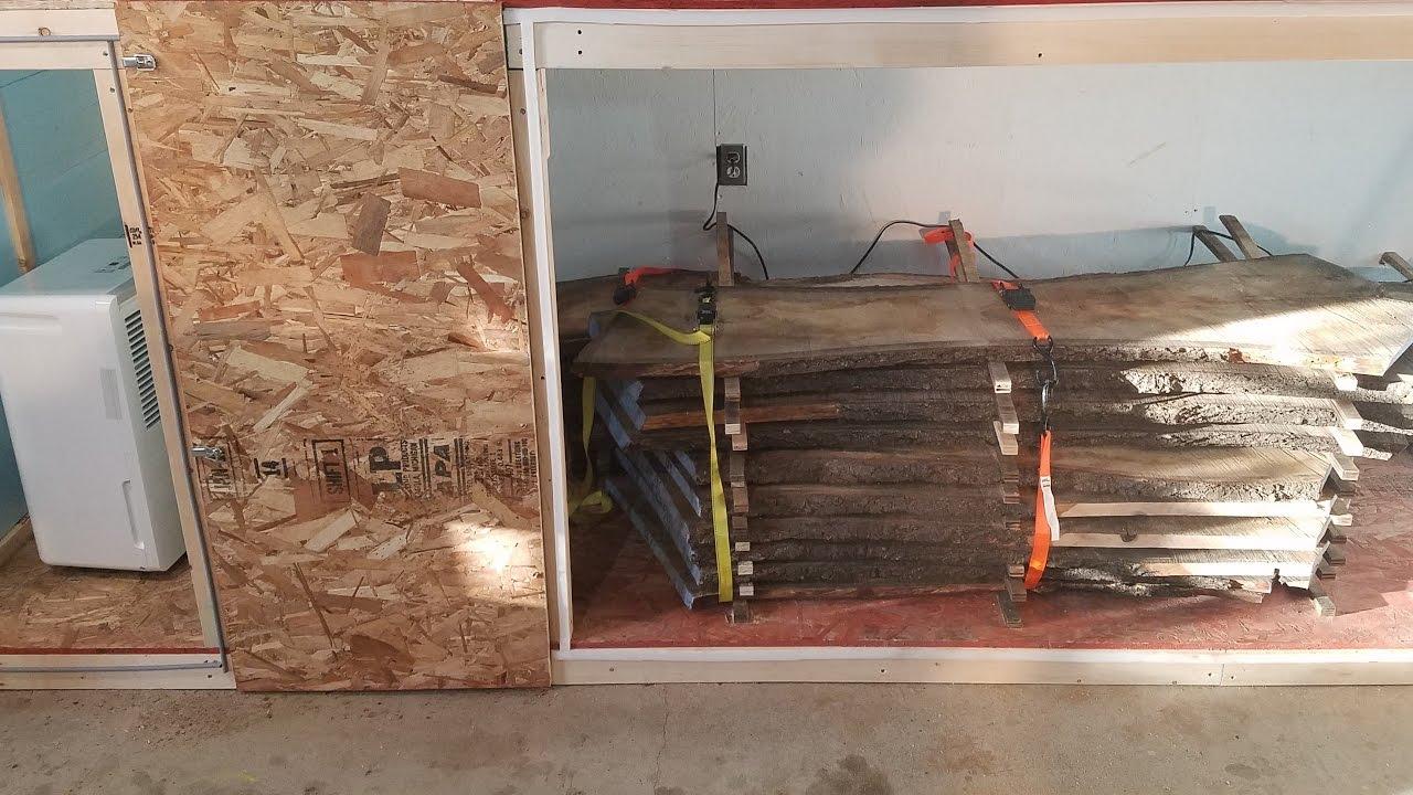 DIY Dehumidification Kiln Build - YouTube