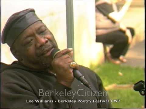 Lee Williams - Berkeley Poetry Festival 1999