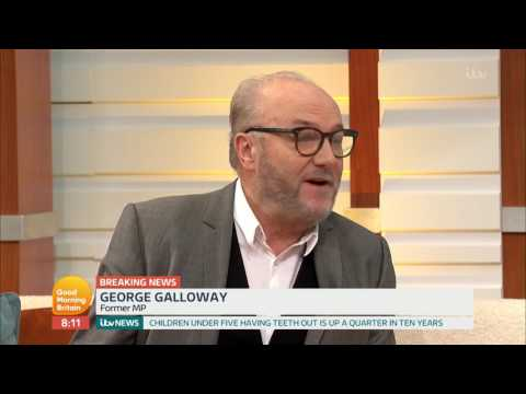 George Galloway Reacts to the Death of Martin McGuinness | Good Morning Britain