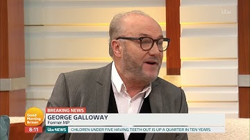 George Galloway Reacts to the Death of Martin McGuinness   Good Morning Britain
