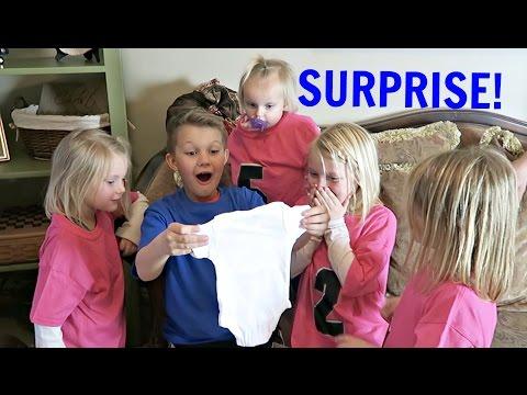 BABY SURPRISE | KIDS REACT