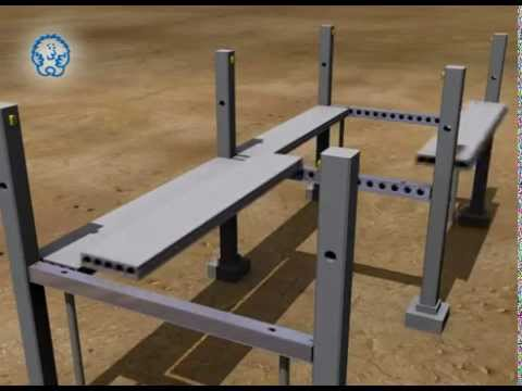 Deltabeam Precast Slim Floor System Youtube