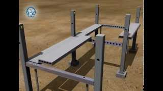 DELTABEAM - Precast Slim-Floor System