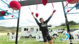3 Ball Climbing Holds - OCR Warrior Skull Valley