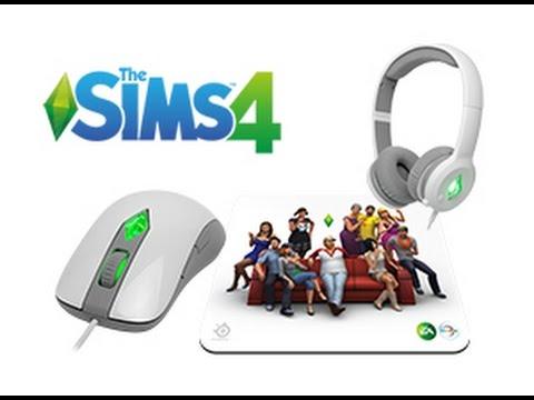 SteelSeries The Sims 4 Gaming Mouse Descargar Controlador