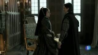 Mary Tudor in 'Carlos, Rey Emperador' - Mary and Philip's reconciliation