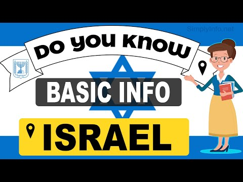 Do You Know Israel Basic Information | World Countries Information #84 - General Knowledge \u0026 Quizzes