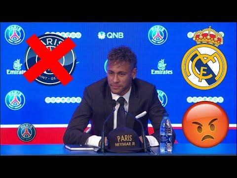 """Neymar : """" JE DOIS QUITTER LE PSG ! ILS N'AURONT JAMAIS MON NIVEAU """" 😡"""