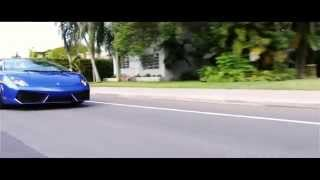 Lamborghini Gallardo Exhaust Sounds and Fly-by Acceleration
