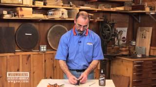 Repairing Finger Board On Violin With Titebond® Liquid Hide Glue