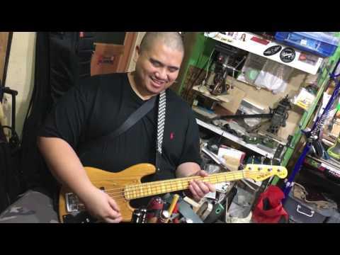 Mini Bass by ELEGEE GUITARS CUSTOMS feat. Karel Honasan (part2)