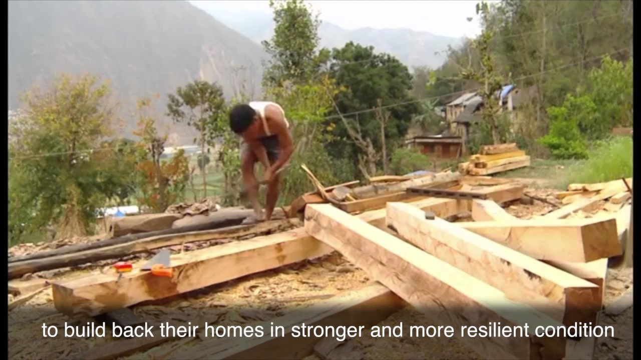 Rebuilding Resilient Houses in Nepal