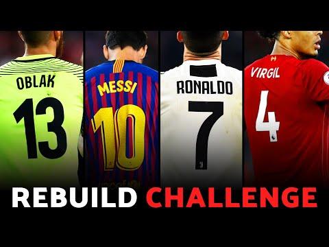 HER FORMA NUMARASINDAN 1 OYUNCU ALMA REBUILD CHALLENGE // FIFA 20 REBUILD KARİYER MODU