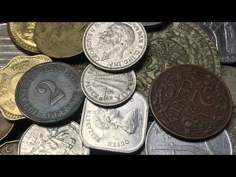 Over 100 DIFFERENT World Coins 1 Pound Grab Bag by CollecTons