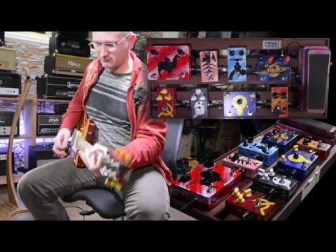 JAM Pedals Test Board - let's take a look at some pedals!