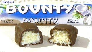 Конфеты Баунти Как сделать шоколадные конфеты БАУНТИ рецепт