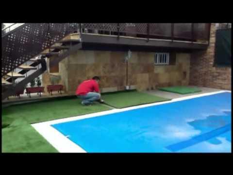 Cesped artificial en terrazas - Cesped artificial atico ...