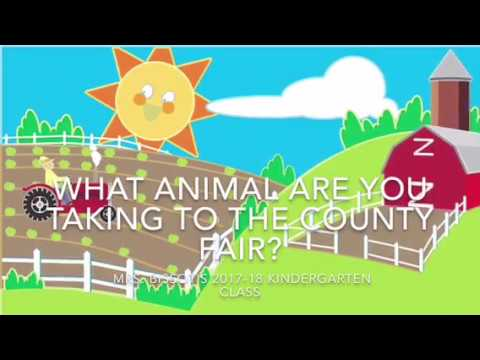 What Animal Are You Taking to the County Fair?