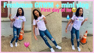 ' GRWM:FIRST DAY OF SCHOOL 😽*Freshman year* Ft;Yafeini