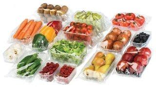 vegetable/fruit packaging machine,food tray packing machine