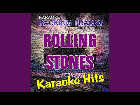 Fool To Cry (Originally Performed By The Rolling Stones) (Karaoke Version)