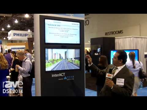 DSE 2014: interACT Shows Kiosk For Wayfinding And Digital Signage