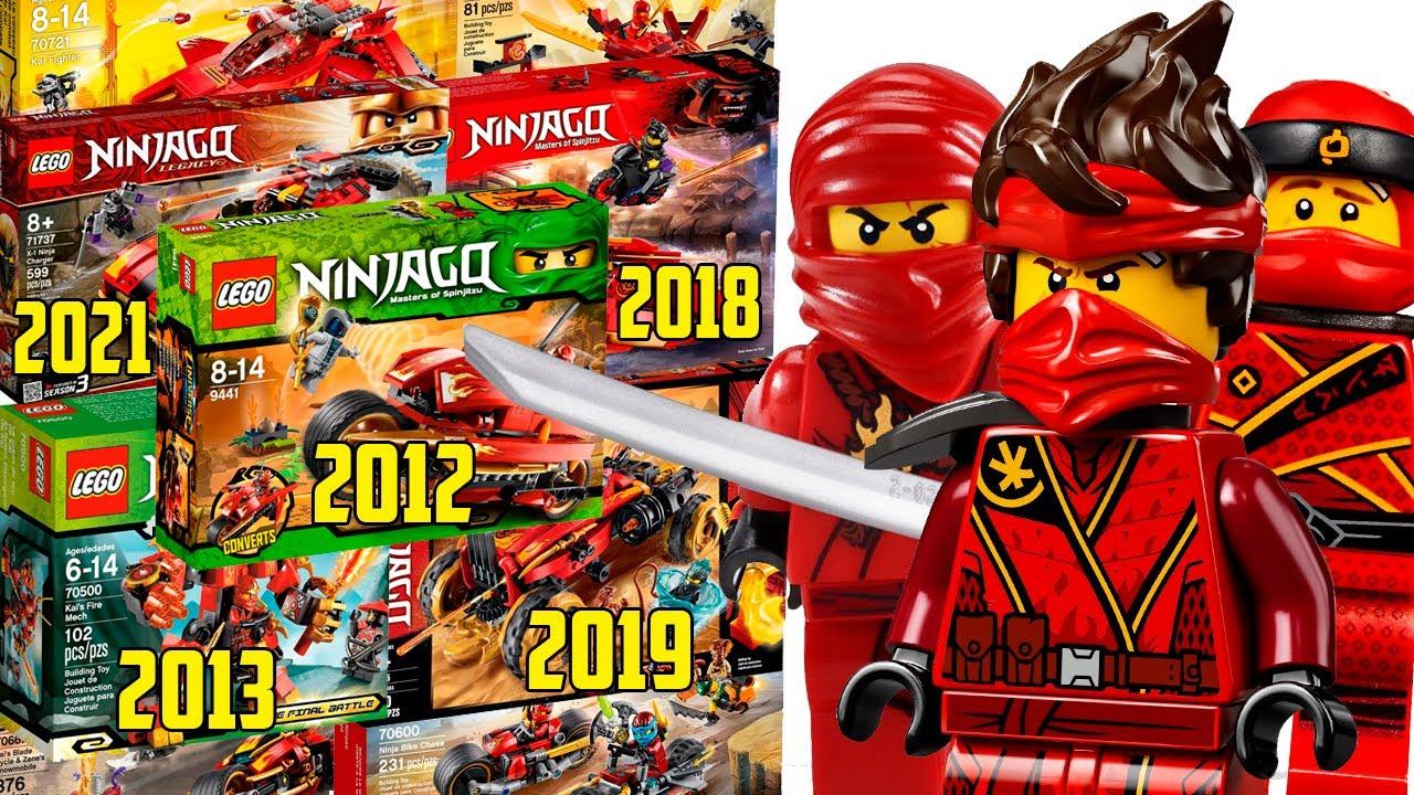ВСЯ Техника Кая LEGO Ninjago 2011-2021 (Lego News-433)