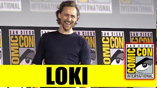 LOKI | 2019 Marvel Comic Con Panel (Tom Hiddleston)