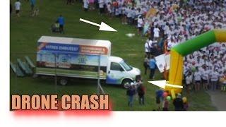 Crazy Drone Crashes (2) dji phantom mavic pro dji inspire Yuneec Q500 4K parrot