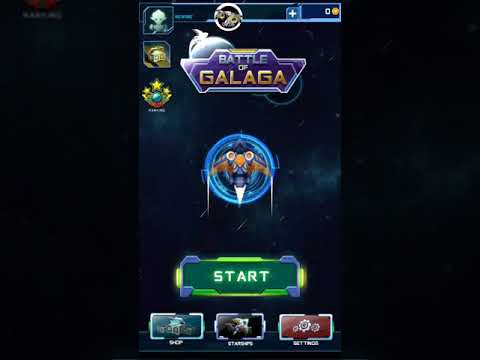 Battle Galaga - Top Game For Android Os Mobile - The First 5 Minutes Play