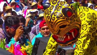 ESPECTACULAR DANZA DE LOS TECUANES EN EL HUEY ATLIXCÁYOTL (VIDEO COMPLETO)