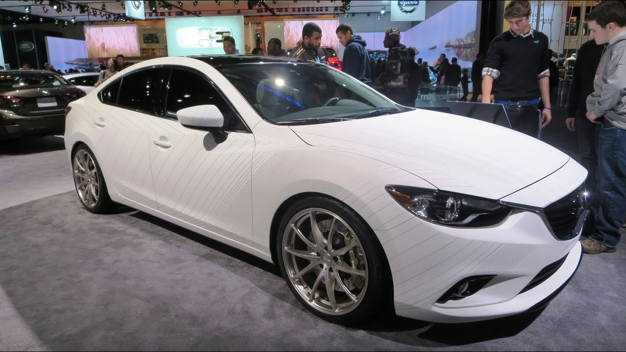 2015 mazda 6 clubsport concept at the 2014 naias auto show youtube