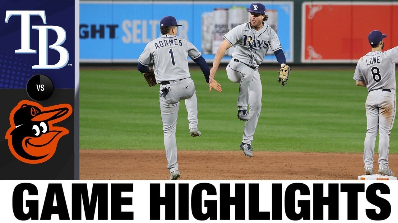 Tyler Glasnow strikes out 10, leads Rays to 2-1 win | Rays-Orioles Game Highlights 9/18/20