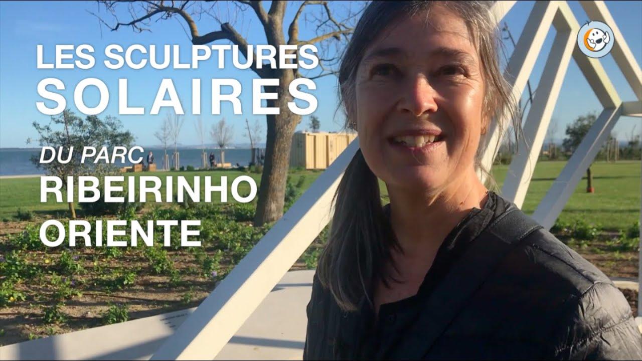 Esculturas Solares à Lisbonne, parque Ribeirinho Oriente