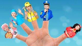 Finger Family professions song | 동요와 아이 노래  어린이 교육 Ulya Liveshow